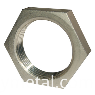 copper hex nut