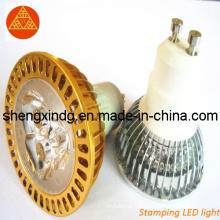 Pièces d'estampillage / estampillage en métal / poinçonnage LED LED couvercle LED boîtier Shell (SX004)