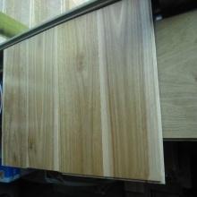 Material sólido manchado pisos de madera de goma