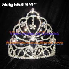 All Clear Crystal Rhinestone Crowns