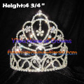 All Clear Crystal Rhinestone Crowns