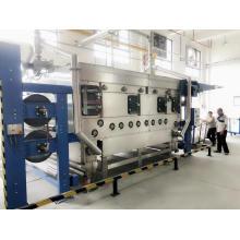 Máquina de predefinição de retração a vapor para remover vincos têxteis