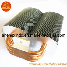Stamping Punching Streetlight Radiator Heatsink/ Stamping (SX007)