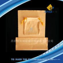 Mikrofaser-Schmucktasche mit LOGO-Druck