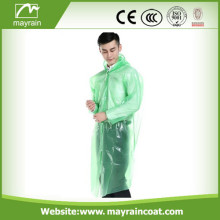 Модный PE Adult Raincoat