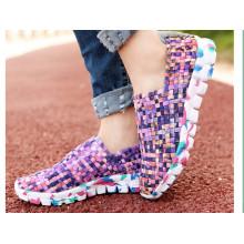 Chaussures tissées à la main, chaussures décontractées 23
