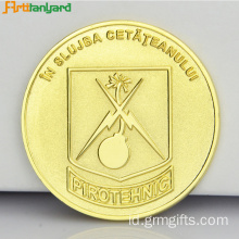 Customized Round Proof Coin untuk Souvenir