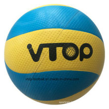 Eight Panels Blue Color Rubber Volleyball