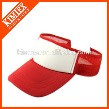 fashion outdoor headwear polyester visor cap