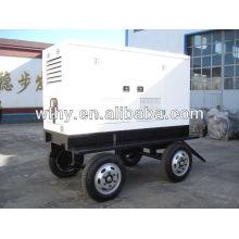 40kw Четыре колеса мобильная генераторная установка