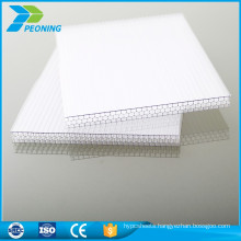 Colorful high quality greenhouse plastic translucent roofing pc sun sheeting
