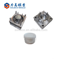 China Alibaba Wholesale Paint Bucket Body Injection Molds Moldeo por inyección de plástico de alta calidad cubo del cubo