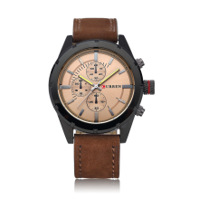 CURREN japan mouvements vintage quartz watch homme