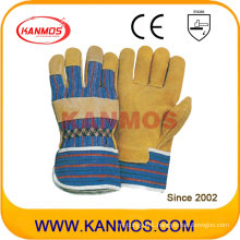 Industrial Safety Pig Split Leather Work Gloves (21001)