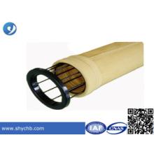 A gaiola do saco de filtro da poeira cumpre com o saco de filtro ou a planta do cimento