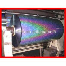 Film laser coloré métallisé