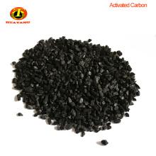 Material granular de carbón activado de carbón para la eliminación de azufre