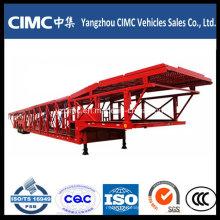 Cimc 7 Ton Car Transport Semi Truck Trailer