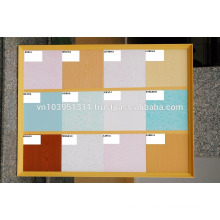 1.6kg/m2 Hollow sheet PVC panel for wall and ceiling decoration