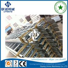 Máquina de formação de rolo de bandeja de cabos tipo escada