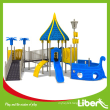 Big Luxurious Kids Outdoor Plastic Play ground LE.HD.014