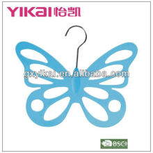 PP plastic butterfly scarf hanger with 12 holes factory in China