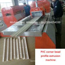 Sjsz65 / 132 PVC Corner Bead Profile Extrusion Machine