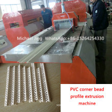 Sjsz65/132 PVC Corner Bead Profile Extrusion Machine