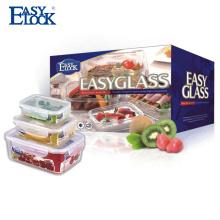 Melhor venda de produtos de alimentos recipiente de vidro