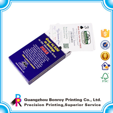 customized cheap custom game card printing