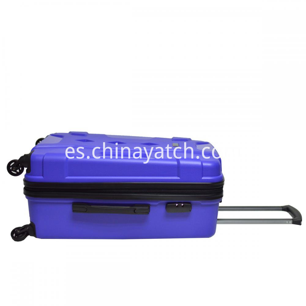 PP Luggage with Aluminum Trolley