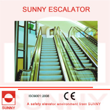 Energy Saving-Heavy Duty Sub Way Rolltreppe mit niedriger Geschwindigkeit 15 FPM und High Speed 100 FPM