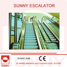 Escalera mecánica Subway de bajo consumo con ahorro de energía de 15 FPM y alta velocidad de 100 FPM