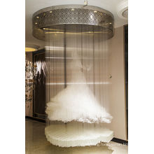 Decoration Clear Crystal Ceiling Light Hotel Lighting (Ka236)