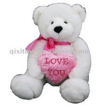 Valentine mignon Je t'aime nounours