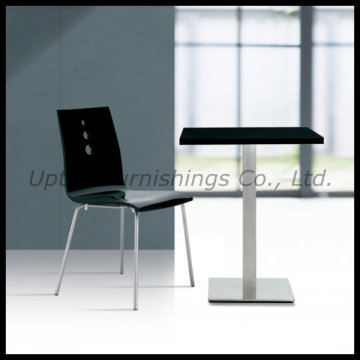 Laminate Top Stainless Steel Dining Restaurant Table (SP-RT262)