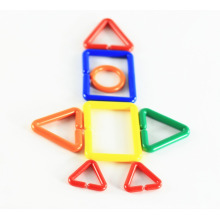 Plastic Magnetic Building Blocks DIY Links Set Children Early Educational Toy Puzzle Games for Preschool Kids