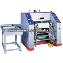 Automatic hot stamping foil rewinding slitting machine