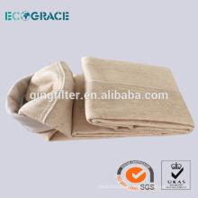 Bolsa de Filtro Nomex Fábrica Directa Filtración de Polvo de Planta de Cemento