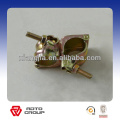 JIS type pressed fixed clamp,swivel clamp for connecting steel pipe