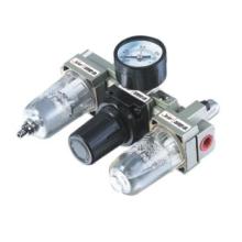 Ningbo ESP pneumática filtro regulador lubrificador AC série filtro de ar combinação