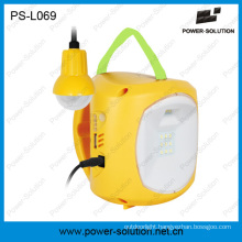 Practical Solar Product LED Lantern Light with Phone Charger