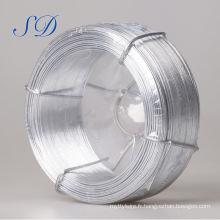 Fil de fer galvanisé de calibre 20 de 0,3 mm à 5 mm