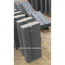 Barre d'impact Kleemann pour pièces concasseuses