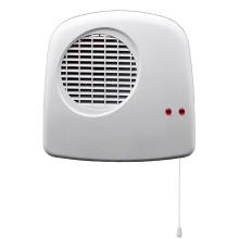 aquecedor de banheiro montado na parede