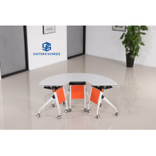 Factory Price Good Quality Modern Office Furniture Stackable Training Desk and Chair