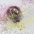 El brillo de color de cambio de ángulo Chameleon Glitter para esmalte de uñas resistente a los disolventes
