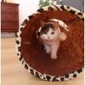 Tube de chat tunnel pliable