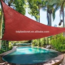 Waterproof shade sails/Outdoor sun shade sail/ big size sunshade sail