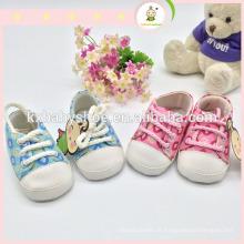 2015 Mocassim para sapatos de bebê com sola macia